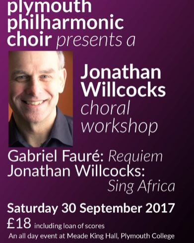 Choral Workshop with Jonathan Willcocks