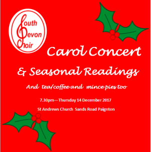 Carols at St Andrews Church Sands Road Paigton
