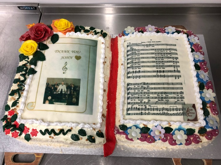 Johns Retirement Cake